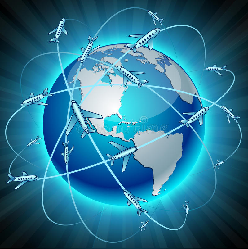 Download Communication Earth - America. Stock Image - Image: 20252061
