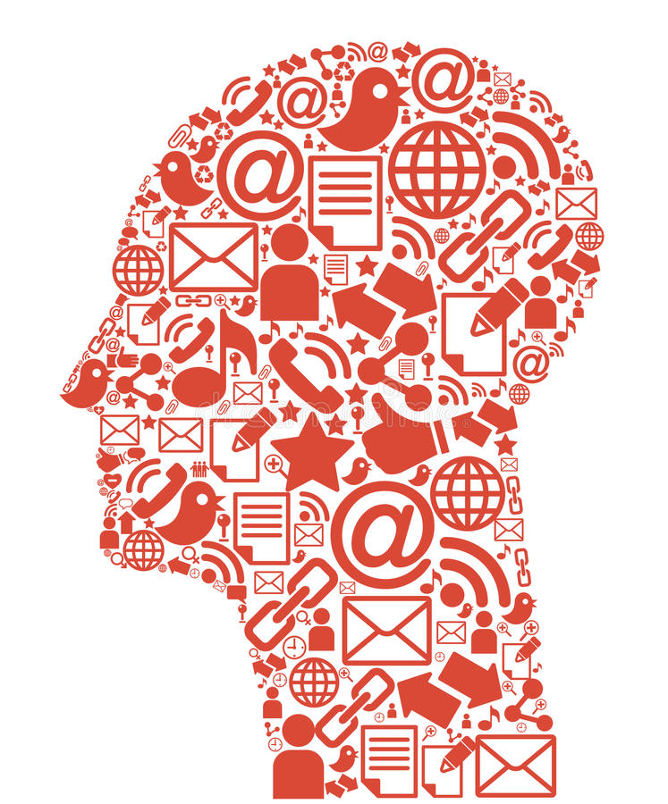 Communication-head. The development of global communications. Communication in mobile and internet networks