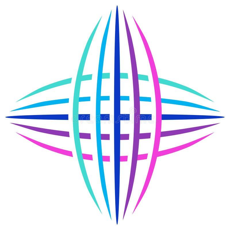 Communication Logo Royalty Free Stock Image