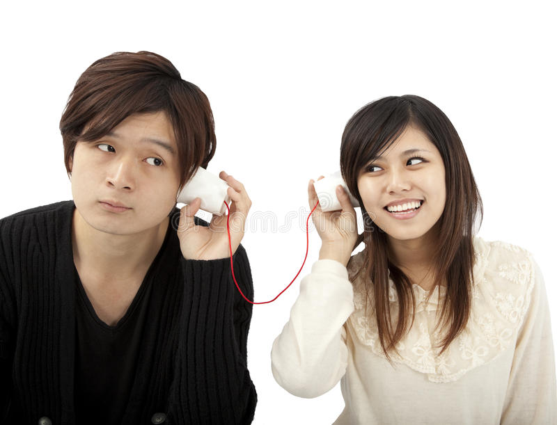 Download The Communication Between Lover Stock Photo - Image: 19625518