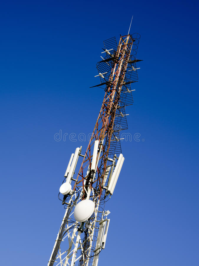 Download Communication pole stock image. Image of modern, energy - 30324561