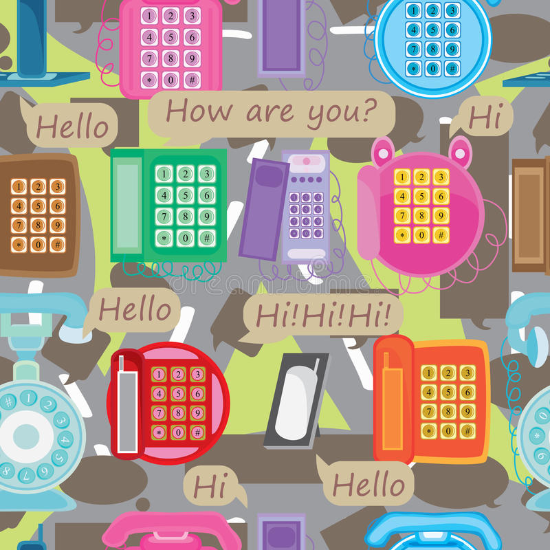 Free Communication Road Seamless Pattern_eps Royalty Free Stock Images - 29290309