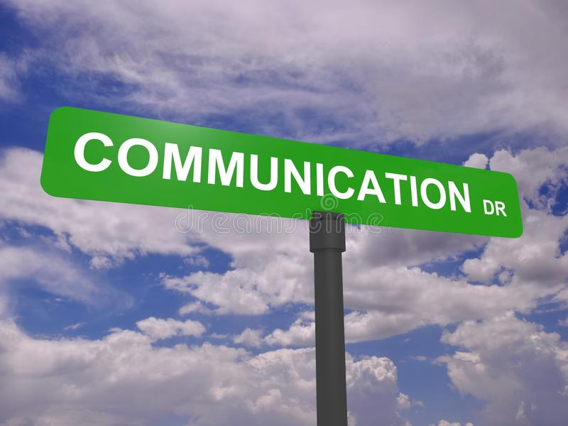 Download Communication Road Sign Royalty Free Stock Images - Image: 25392189