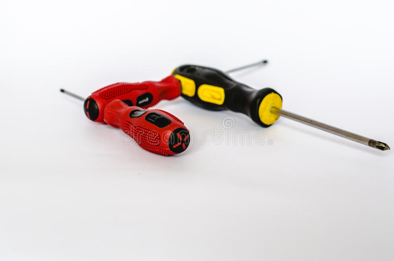 Communication screwdriver stock photography