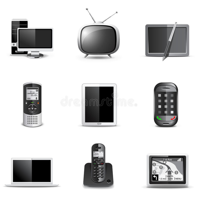 Download Communication Technology   Bella Series Stock Vector - Image: 19583138