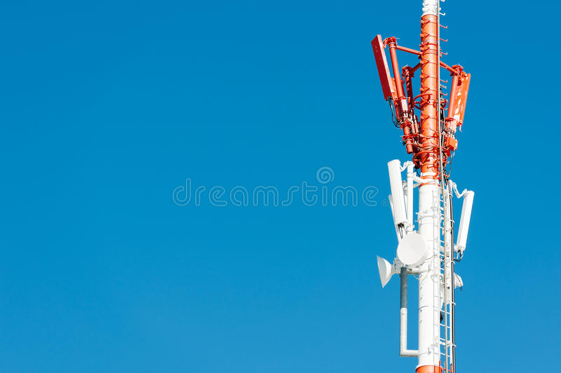 Download Communication Tower stock photo. Image of display, broadcasting - 24492160
