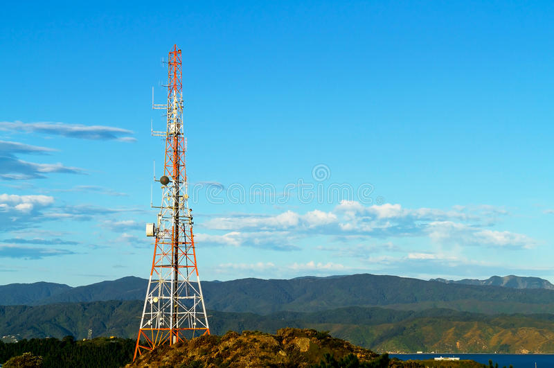 Communication Tower royalty free stock photos