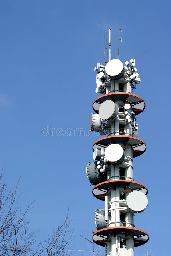 Download Communication tower stock photo. Image of cellular, phone - 2718136