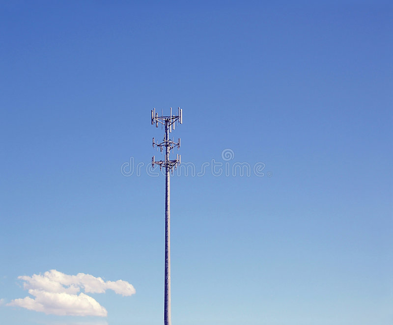 Download Communication tower stock photo. Image of transmitter - 5364364