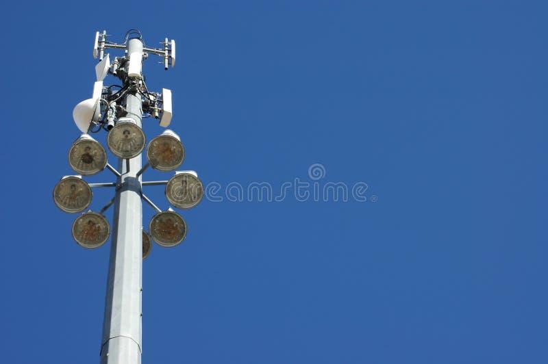 communication tower στοκ φωτογραφία με δικαίωμα ελεύθερης χρήσης