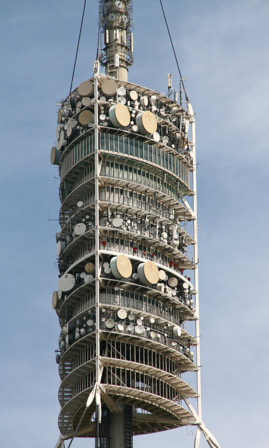 Download Communication tower stock photo. Image of frequency, radio - 9152928
