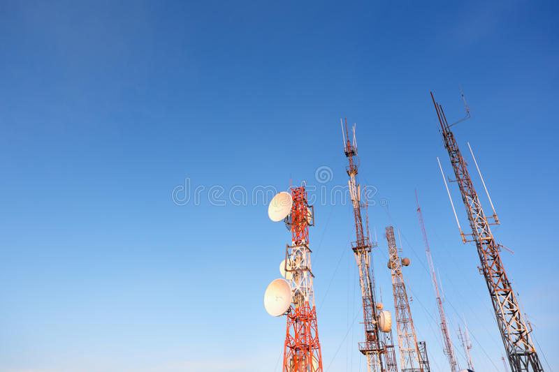 Download Communication Towers Stock Photos - Image: 16386773