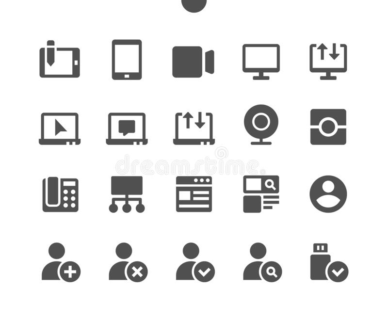 Communication v2 UI Pixel Perfect Well-crafted Vector Solid Icons. 48x48 Ready for 24x24 Grid for Web Graphics and Apps. Simple Minimal Pictogram vector illustration