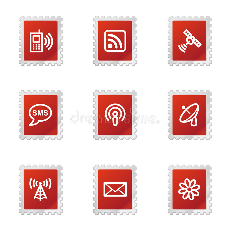 Download Communication web icons editorial photography. Illustration of icon - 7223667