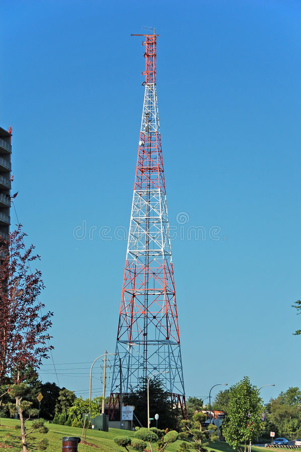 Download Communications antenna stock image. Image of transmitter - 1115693