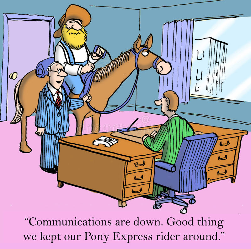 Communications vector illustration