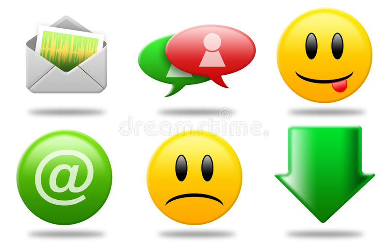 Download Communications icons 02 stock illustration. Image of download - 13089326