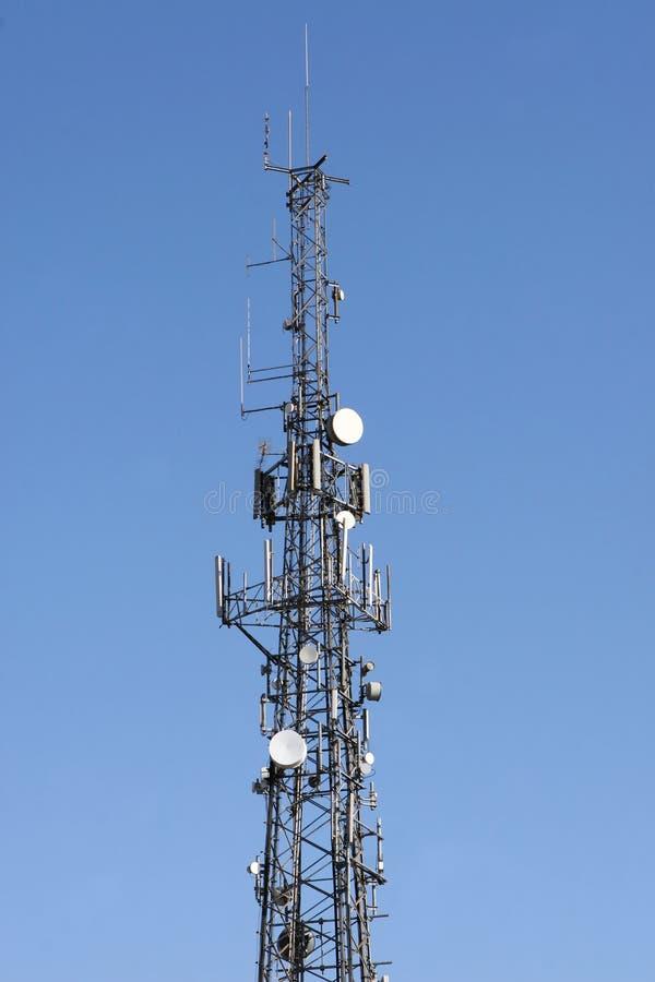 Communications Mast royalty free stock image