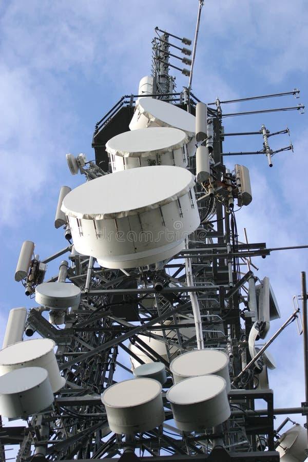 Communications Mast stock photos