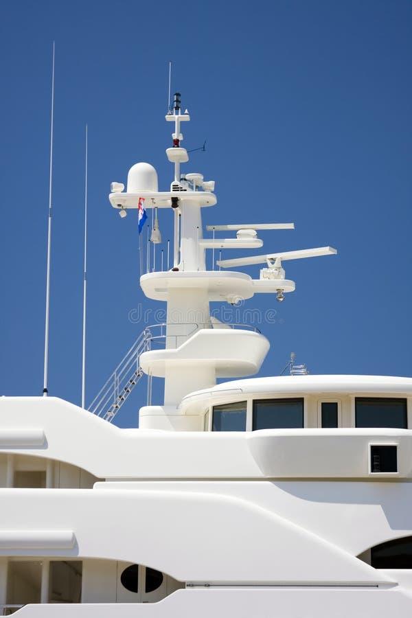 Download Communications Mast On Yacht Stock Photo - Image: 5676596