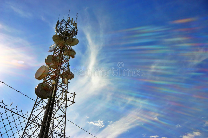 Download Communications tower stock photo. Image of mast, area - 1711902