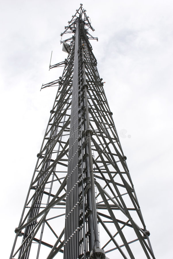 Communications Tower 2 stock images