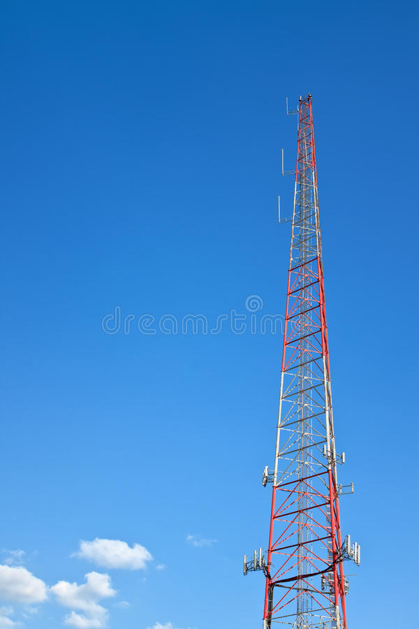 Download Communications Tower stock image. Image of broadcast - 26442451