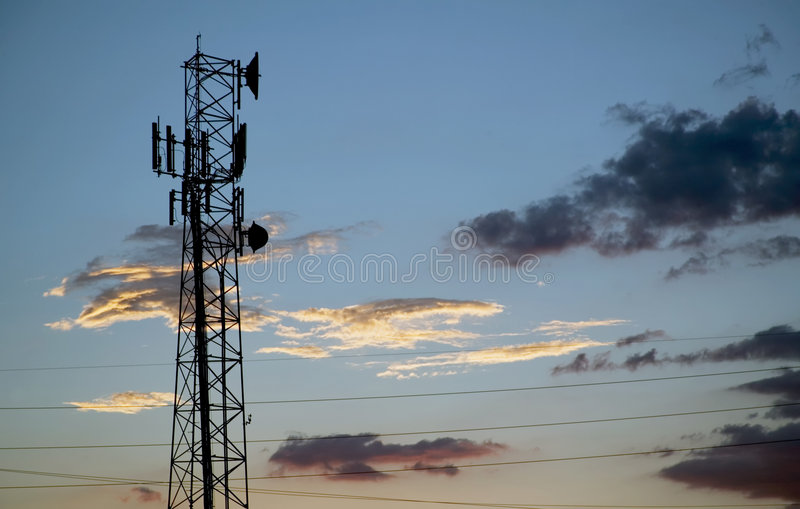 Communications Tower stock photography
