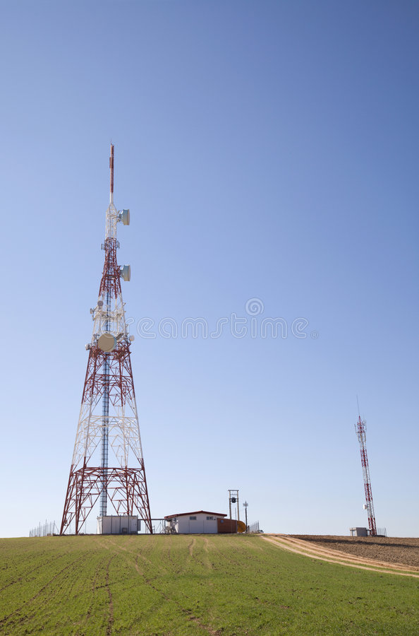 Download Communications Tower stock image. Image of energy, network - 8659225