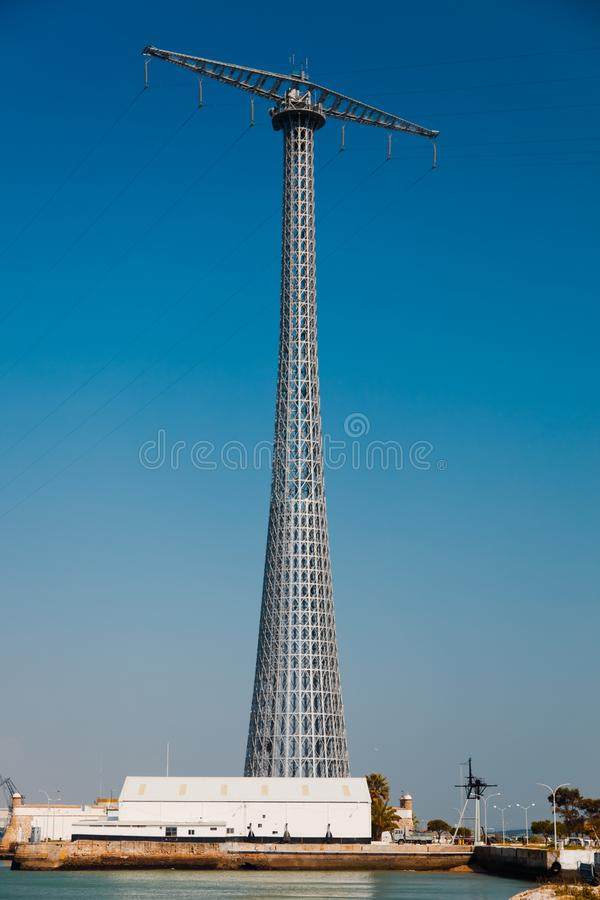 Communications Tower of Puntales royalty free stock photo