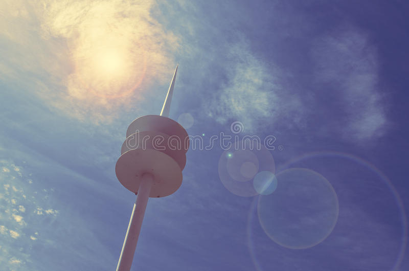 Download Communications Tower Stock Images - Image: 35109724