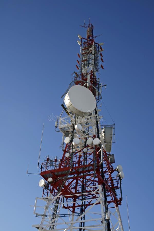 Communicatios Mast stockfoto