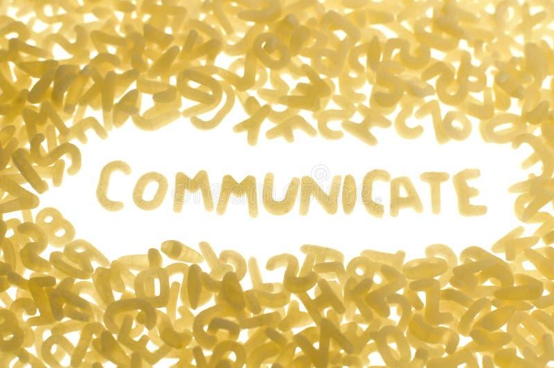 Communiceer royalty-vrije stock foto