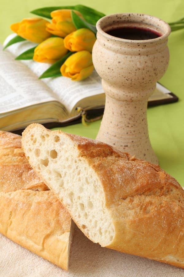 communion święty zdjęcie royalty free