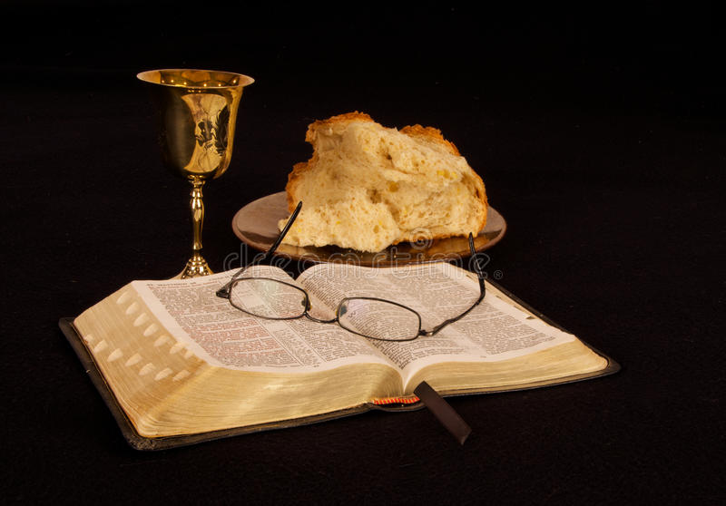 communion royalty-vrije stock afbeeldingen