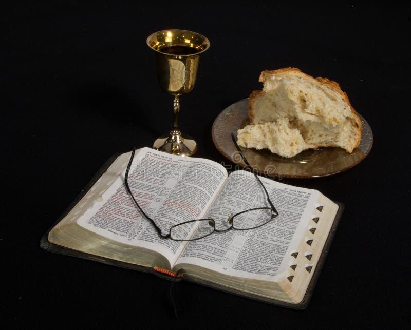 communion stock afbeelding