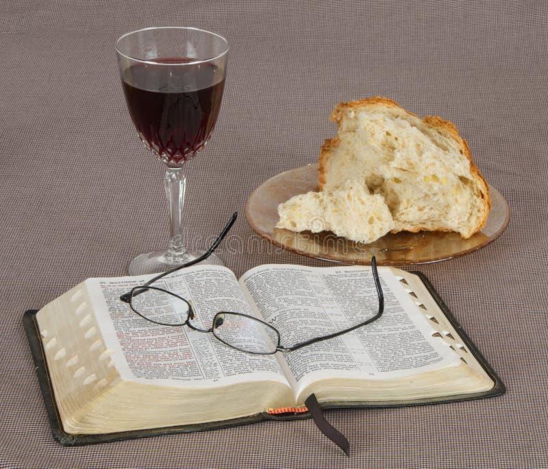 communion royalty-vrije stock afbeelding