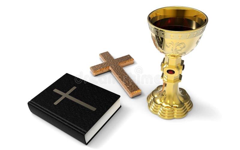 communion ilustração stock