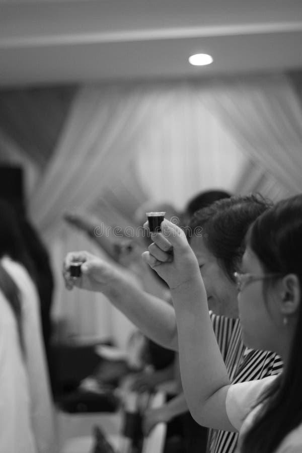 communion royalty-vrije stock fotografie