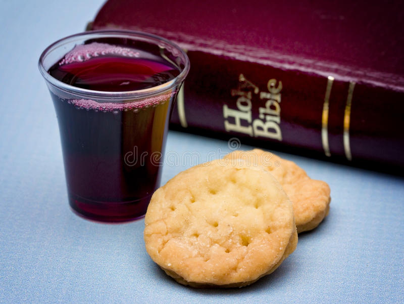 The Communion royalty free stock images