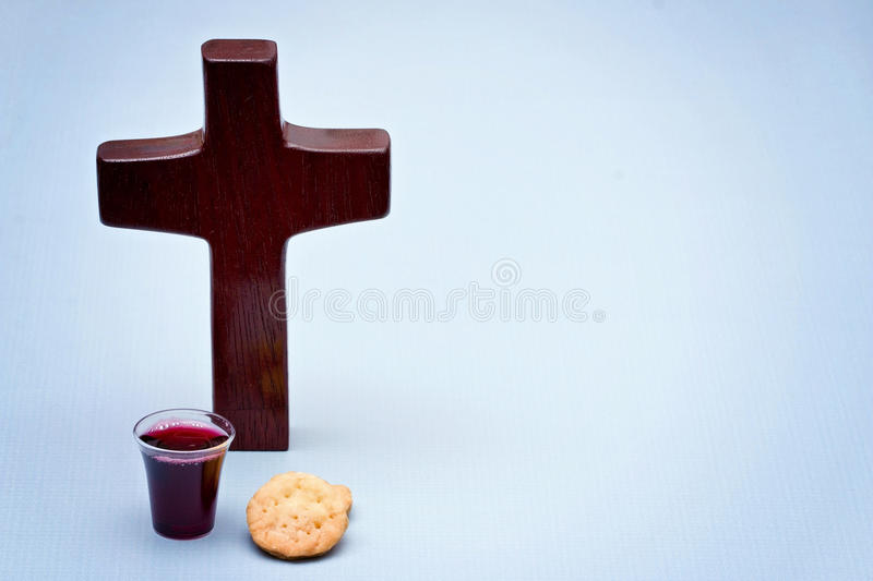 The Communion royalty free stock photo