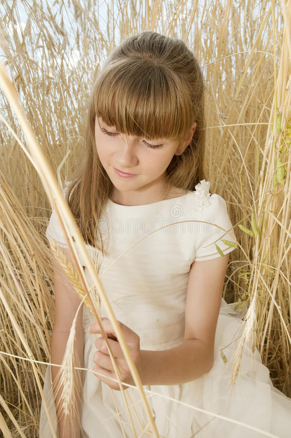 Download Communion girl stock photo. Image of girl, flower, peace - 20508778