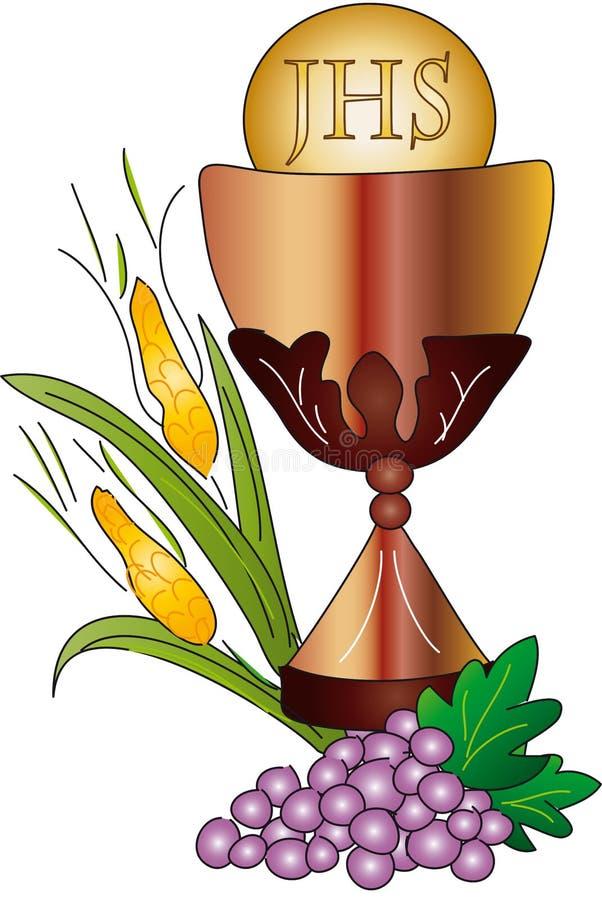 communion najpierw obrazy stock