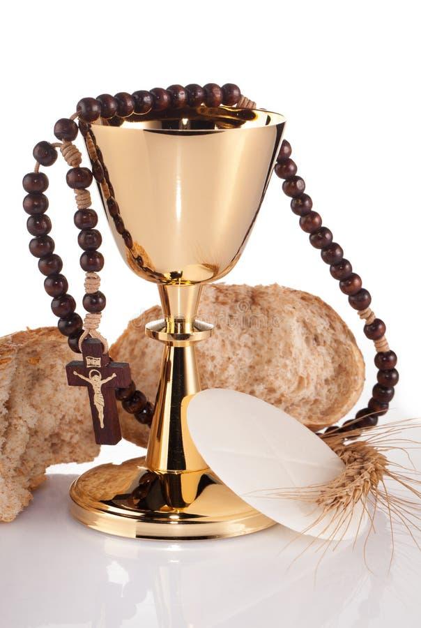 Communion sainte photographie stock libre de droits