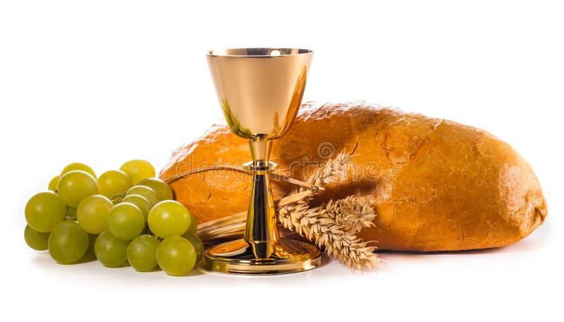Download Communion sainte photo stock. Image du eucharistie, prière - 45354876