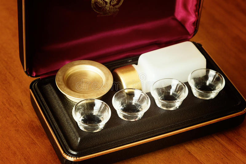 Download Communion set stock photo. Image of share, tray, holy - 21852618