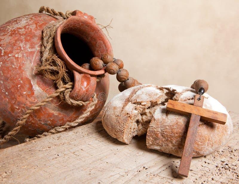 Download Communion still life stock image. Image of cross, symbol - 13292043