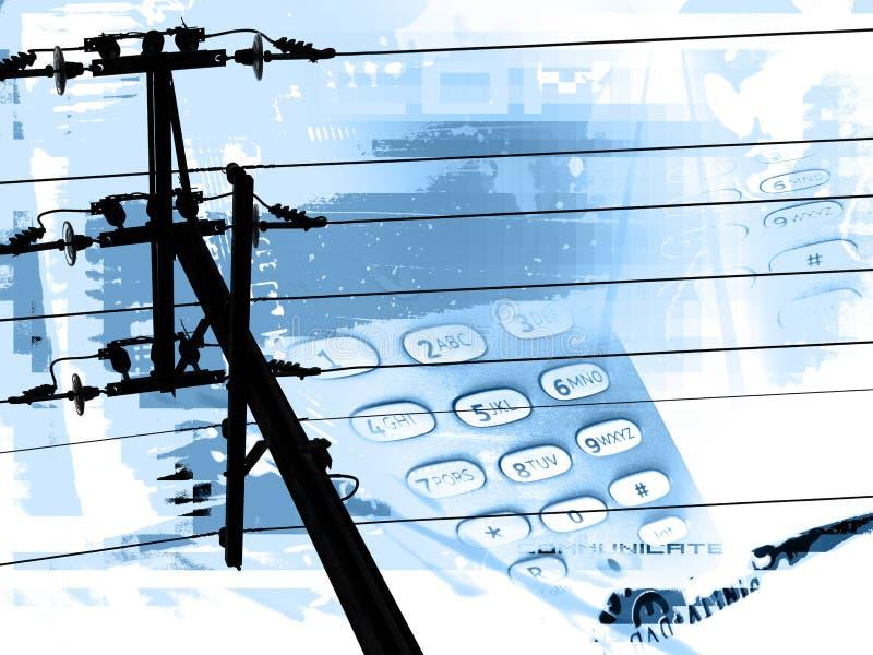 Download Communiquez illustration stock. Illustration du câble, télécommunications - 71008