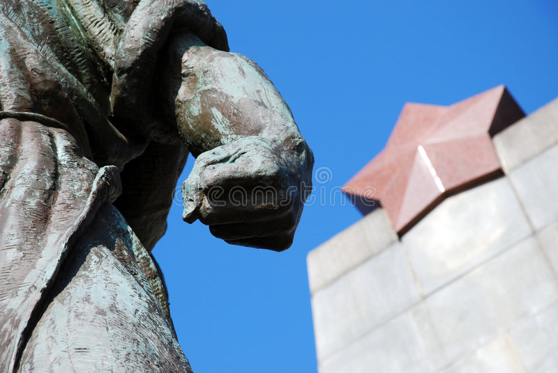 Download Communism statue stock photo. Image of moscow, star, guerrilla - 8556646