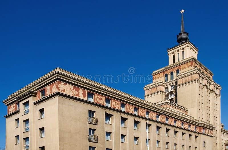 Communist architecture stock photos